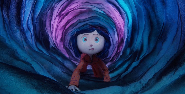 Coraline-in-a-tunnel